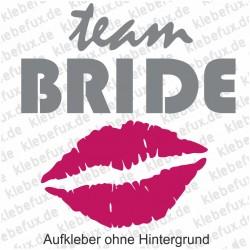 Aufkleber Team Bride Nr. 4