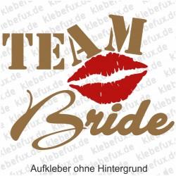 Aufkleber Team Bride Nr. 5
