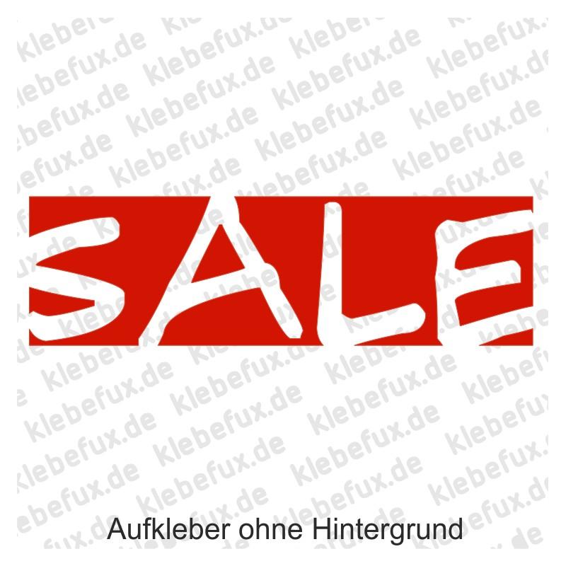 Sale Aufkleber - klebefux