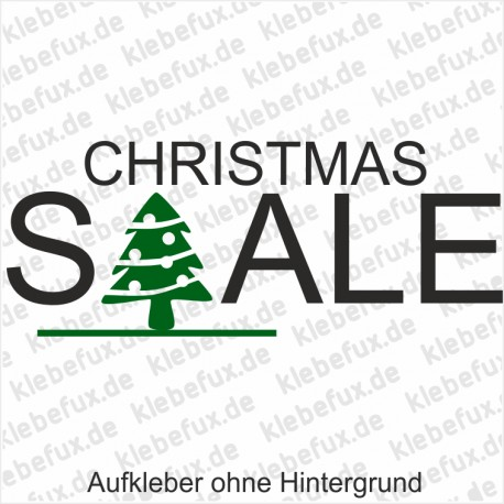 Aufkleber Christmas Sale