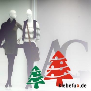 Aufkleber Weihnachtsbaum
