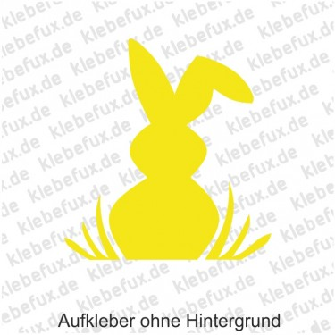 "Aufkleber Ostern ""Hase"" Nr. 3"