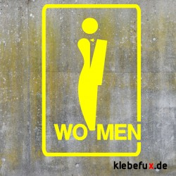 """Aufkleber Symbole """"Toiletten"""""""