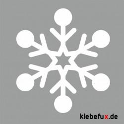 """Aufkleber """"Schneeflocke"""""""