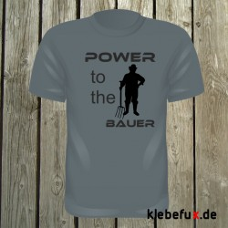 """Textil """"Power to the Bauer"""""""