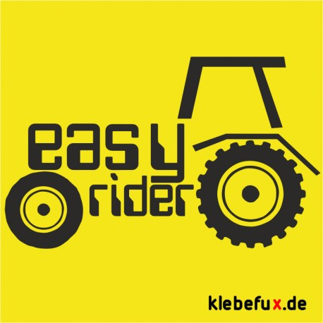"Aufkleber ""easy rider"""