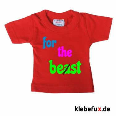 "Minishirt ""for the be(a)st"""