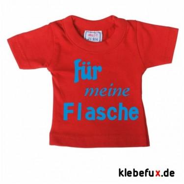 """Minishirt """"für meine Flasche"""""""