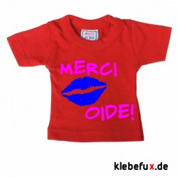 "Minishirt ""Merci Oide!"""