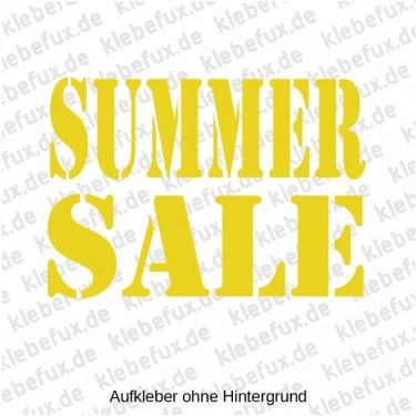 Aufkleber Summer Sale Nr. 1