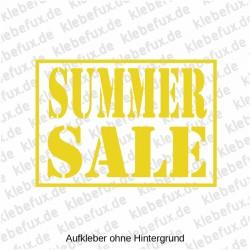 Aufkleber Summer Sale Nr. 2