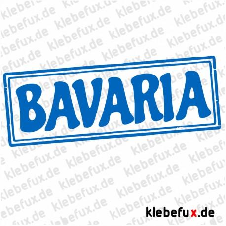 Aufkleber Bavaria