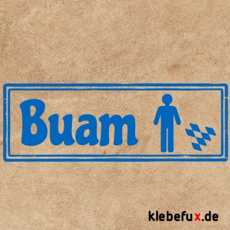 Aufkleber Bayern Toiletten bua
