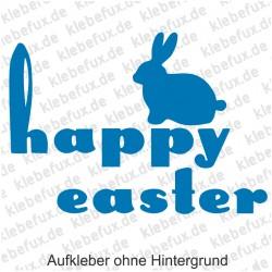 Happy Easter 4 Aufkleber
