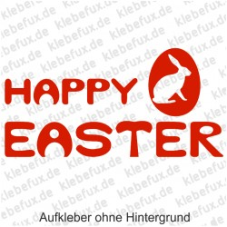 Happy Easter 3 Aufkleber