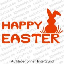 Happy Easter 2 Aufkleber