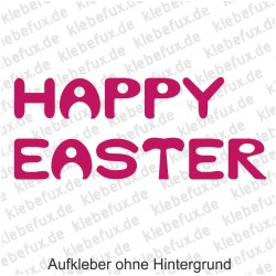 Happy Easter 1 Aufkleber