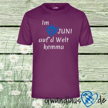 "Textil ""im Juni aufd Welt kemma"""