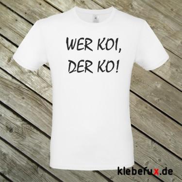 """Textil """"Koi"""" (nur Text)"""