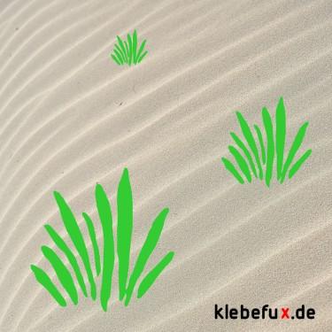 """Aufkleber """"Gras"""""""