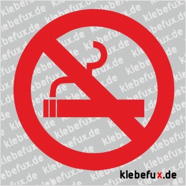 Aufkleber Rauchverbot
