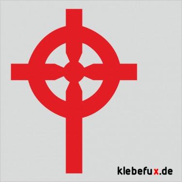 Aufkleber Kreuz