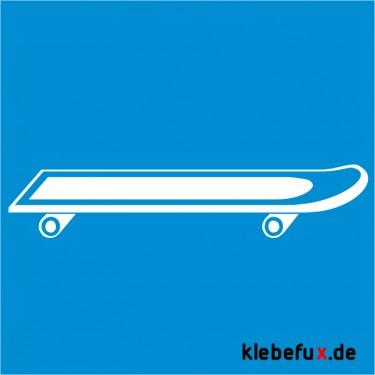 Aufkleber Skateboard