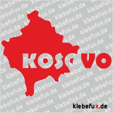 Aufkleber Kosovo