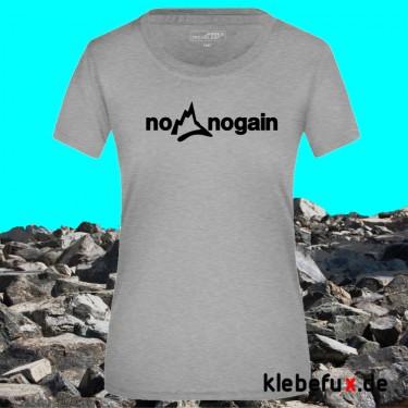 "Textil ""no pain no gain"""