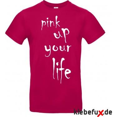 "Textil ""pink up your life"""