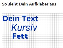 Ein Beispiel eines formatierten Textes